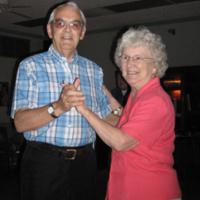 Parents dancing