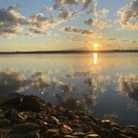 Lake Champlain at sunrise