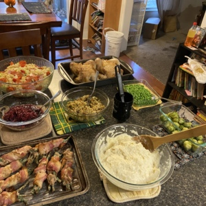 Lock down Thanksgiving